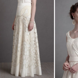 BHLDN There is Only You&Me Couturier Skirt 12 NEW